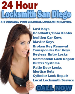 24 Hour Locksmith San Diego